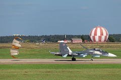 Su-35SM Zdjęcia Royalty Free