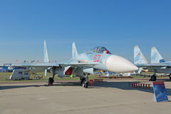 Su-27 SM3 (Flanker) Obrazy Royalty Free
