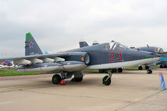 SU25-SM at MAKS-2013 Royalty Free Stock Photo