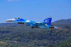 Su-27 Sukhoi Obraz Stock