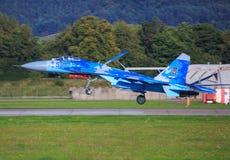 Su-27 Sukhoi Zdjęcia Stock
