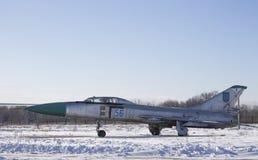 Su-15 supersonische interceptor in de jaren '60, de Oekraïne Royalty-vrije Stock Fotografie