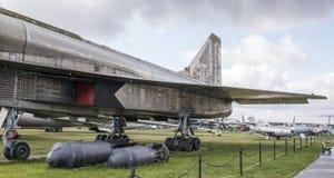 Su-100 (T-4) - воздушные судн Забастовк-рекогносцировки maxed скорость, km/h-32 Стоковое фото RF
