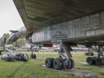 Su-100 (T-4) - воздушные судн Забастовк-рекогносцировки maxed скорость, km/h-32 Стоковые Изображения RF
