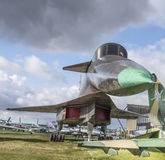 Su-100 (T-4) - Slag-spaningar flygplan max hastighet km/h-32 Royaltyfria Foton