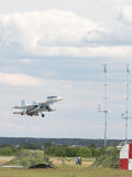Su-30 takes off into the sky Royalty Free Stock Photo