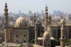 sułtan hassan meczetu cairo Egipt Zdjęcia Royalty Free