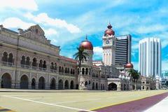 Sułtanu Abdul Samad budynek, Kuala Lumpur Obraz Stock