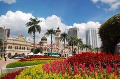 Sułtanu Abdul Samad budynek, Kuala Lumpur Zdjęcia Royalty Free