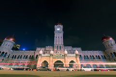 30/04/17 sułtanu Abdul Samad budynków, Kuala Lumpur, Malezja Ni Obraz Stock