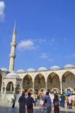 Sułtanu Ahmed meczet Obraz Royalty Free