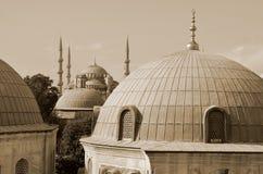 Sułtanu Ahmed meczet Zdjęcie Stock