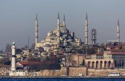 Sułtanu Ahmet meczet Zdjęcia Royalty Free