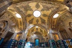 Sułtanu emira Ahmad Bathhouse w Kashan, Iran Zdjęcie Royalty Free