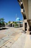Sułtanu Haji Ahmad Shah meczet a K uia meczet w Gombak, Malezja Fotografia Stock