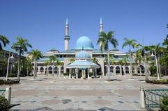 Sułtanu Haji Ahmad Shah meczet a K uia meczet w Gombak, Malezja Fotografia Royalty Free