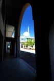 Sułtanu Haji Ahmad Shah meczet a K uia meczet w Gombak, Malezja Zdjęcia Stock