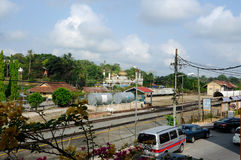 Sułtanu Mahmud meczet W Kuala Lipis, Pahang Obrazy Royalty Free