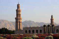 Sułtanu Qaboos meczet - muszkat, Oman Obraz Stock