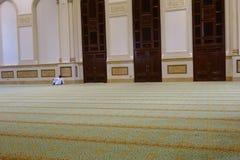 Sułtanu Qaboos Uroczysty meczet w Salalah, Dhofar Oman region obrazy royalty free