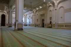 Sułtanu Qaboos Uroczysty meczet w Salalah, Dhofar Oman region Zdjęcie Royalty Free