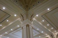 Sułtanu Qaboos Uroczysty meczet w Salalah, Dhofar Oman region Zdjęcie Stock