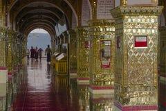 Su Taung Pyi pagoda Zdjęcia Stock
