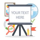 Su texto aquí ilustración del vector
