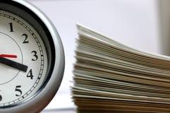 Su tiempo del asunto Fotos de archivo