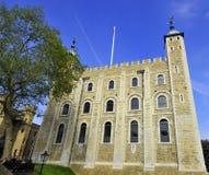 Su torre de majestad de Londres Imagenes de archivo