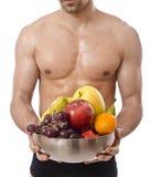 Dieta sana, cuerpo sano Foto de archivo