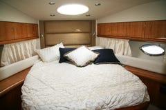 Su un yacht Fotografia Stock