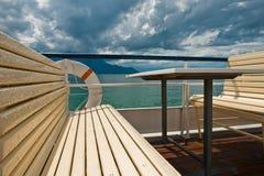 Su una barca Fotografia Stock Libera da Diritti