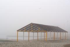 Su una mattina nebbiosa Fotografie Stock