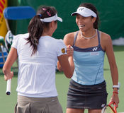 Su-Wei HSIEH / Shuai PENG - 2009 BNP Paribas Open Stock Photos