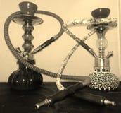 Su y el suyo tubos del shisha Imagen de archivo libre de regalías