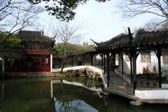 Su Zhou tuin Royalty-vrije Stock Fotografie
