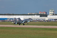 Su-35 Royalty Free Stock Images