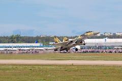 Su-35 Royalty Free Stock Photo
