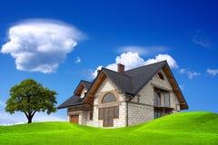 Sua casa Fotografia de Stock