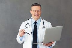 Sua história médica é certo aqui! fotografia de stock