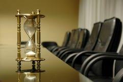 Sua hora para a reunião de negócio Fotos de Stock