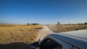 Sua Pan. Makgadikgadi National Park, Botswana Royalty Free Stock Images