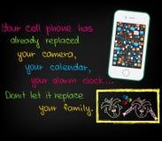 Sua pilha phone1 Foto de Stock