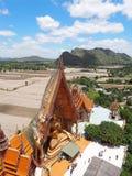 Sua tailandese di thum di Wat del tempio in Kanjanaburi immagine stock libera da diritti