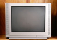Sua televisão básica da tela lisa Imagens de Stock Royalty Free