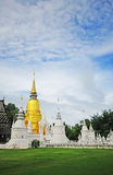 Suan Dok  monastery,Thailand Royalty Free Stock Photography