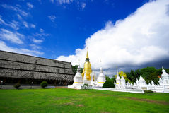 Suan dok temple Royalty Free Stock Photography