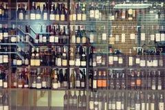 Suan luang泰国2018年11月17日 酒精商店 免版税库存图片
