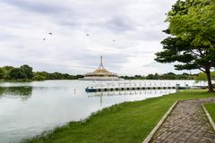 The Beautiful Public Park Stock Photography